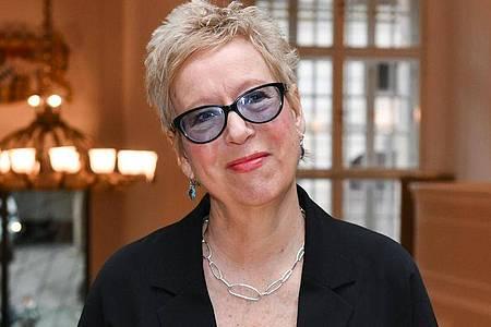 Doris Dörrie beim Empfang des FilmFernsehFonds Bayern 2020. Foto: Jens Kalaene/dpa-Zentralbild/dpa