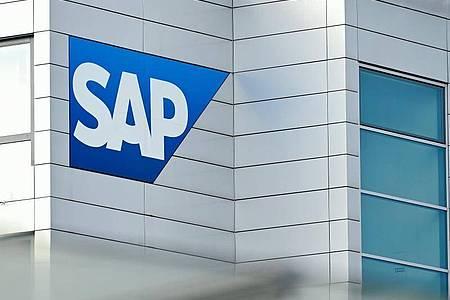 Die Hauptversammlung des Softwarekonzerns SAP findet wegen der Corona-Krise in diesem Jahr nur online statt. Foto: Uwe Anspach/dpa