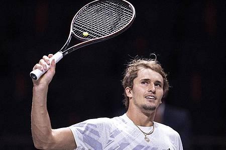 Alexander Zverev denkt derzeit nicht über eine Absage seiner Teilnahme bei den ATP Finals nach. Foto: Marius Becker/dpa