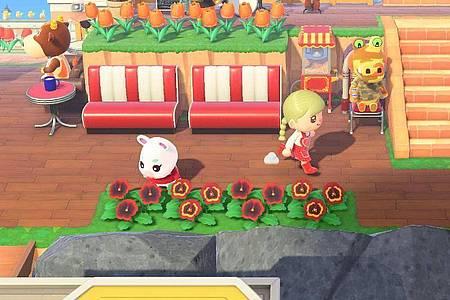 In «Animal Crossing: New Horizons» ist eine Minute wirklich eine Minute. Also geht alles schön langsam. Foto: Nintendo/dpa-tmn