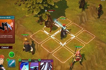Welche Aktionen eine Spielfigur ausführt, legen Spieler mit Kartenkombinationen fest. Foto: Drix Studios/dpa-mag