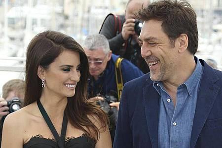 Penélope Cruz (l) und Javier Bardem bei den Filmfestspielen in Cannes 2018. Foto: Joel C Ryan/Invision/AP/dpa