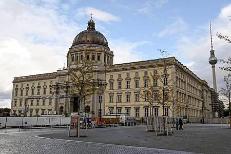 Das Humboldt Forum in Berlin. Foto: Britta Pedersen/dpa-Zentralbild/dpa