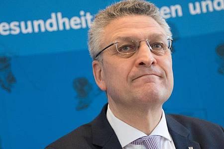 RKI-Präsident Lothar Wieler. Foto: Jörg Carstensen/dpa