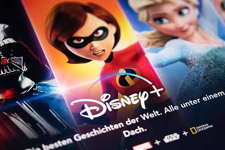 Der neue Streamingdienst Disney+ bietet eine breite Auswahl an Filmen - für große und kleine Zuschauer. Foto: Catherine Waibel/dpa-tmn