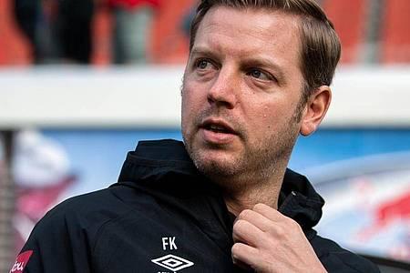 Wehrt sich gegen seine Kritiker: Werder-Coach Florian Kohfeldt. Foto: Robert Michael/dpa