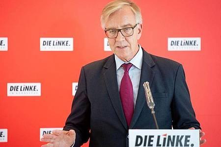 Dietmar Bartsch warnt vor der Relativierung islamistischer Taten. Foto: Kay Nietfeld/dpa