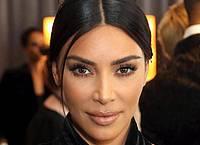 """Kim Kardashian, US-amerikanische Schauspielerin, nimmt an den Creative Arts Emmy Awards im Microsoft Theater teil. (zu dpa: """"Kampf gegen Falschnachrichten: Kardashian geht in Instagram-Streik"""") (Wiederholung mit verändertem Bildausschnitt). Foto: Willy Sanjuan/Invision/AP/dpa"""