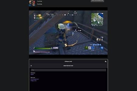 Allein zu zweit: Streamer Gaavh hat immerhin einen Zuschauer - und vielleicht bald mehr, falls ihm das Twitch-Roulette Glück bringt. Foto: Twitchroulette.net/dpa-tmn