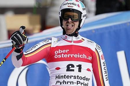 Soll in der alpinen Ski-Saison für deutsche Erfolgserlebnisse sorgen:Stefan Luitz. Foto: Giovanni Auletta/AP/dpa