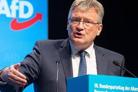 Der AfD-Vorsitzende Jörg Meuthen denkt über eine Aufspaltung der Rechtspopulisten nach. Foto: Hauke-Christian Dittrich/dpa