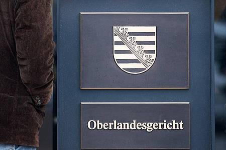Am OLG Dresden findet der zweite Prozess gegen die sogenannte «Gruppe Freital» statt. Foto: Arno Burgi/dpa-Zentralbild/dpa