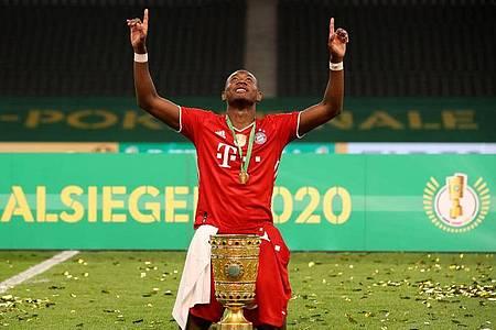 Soll bei Man City hoch im Kurs stehen: Bayern-Profi David Alaba. Foto: Alexander Hassenstein/Getty Images Europe/Pool/dpa