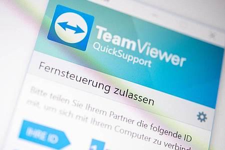 TeamViewer ist eine etablierte, stabile und für Privatnutzer kostenlose Fernwartungs-Lösung mit Unterstützung für Windows, macOS, Android und iOS. Foto: Zacharie Scheurer/dpa-tmn
