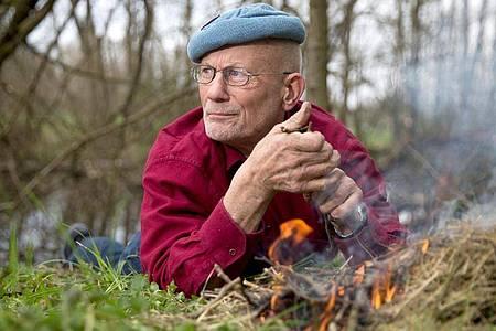 Der deutsche Survival-Experte und Aktivist für Menschenrechte, Rüdiger Nehberg, ist tot. Foto: Axel Heimken/picture alliance / dpa