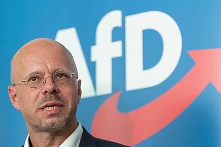 Andreas Kalbitz, Vorsitzender der AfD-Fraktion im Landtag von Brandenburg. Foto: Soeren Stache/dpa-Zentralbild/dpa