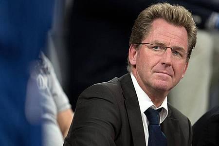 Die Planspiele der Ligaspitze um Geschäftsführer Stefan Holz gehen schon über das Turnier in München hinaus. Foto: Nicolas Armer/dpa
