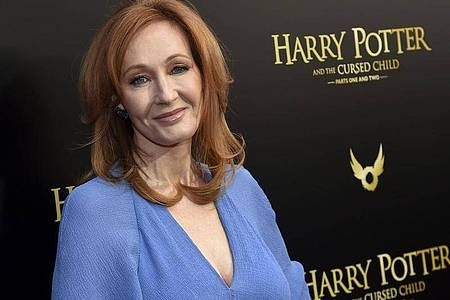 "J.K. Rowling bei der Premiere des Theaterstücks ""Harry Potter and the Cursed Child"". Foto: Evan Agostini/Invision/AP/dpa"
