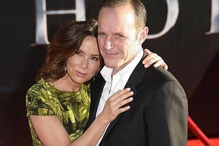 Jennifer Grey und Clark Gregg lassen sich scheiden. Foto: Jason Redmond/EPA/dpa
