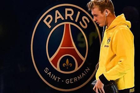 Julian Brandt ist mit dem BVB in der Champions League an Paris Saint-Germain gescheitert. Foto: Franck Fife/AFP/dpa