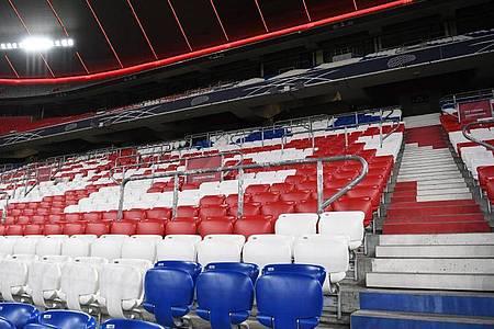 Bayern München muss gegen Hertha BSC ohne Zuschauer spielen. Foto: Sven Hoppe/dpa-Pool/dpa