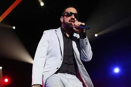 Der Backstreet Boys-Sänger AJ McLean tanzt steppt demnächst in einer Tanzshow im US-Fernsehen. Foto: picture alliance / dpa