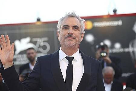 Regisseur Alfonso Cuarón 2018 bei den Filmfestspielen in Venedig. Foto: Joel C Ryan/Invision/AP/dpa