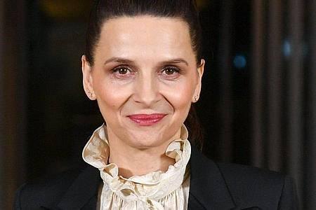 Juliette Binoche wird in Zürich ausgezeichnet. Foto: Jens Kalaene/zb/dpa