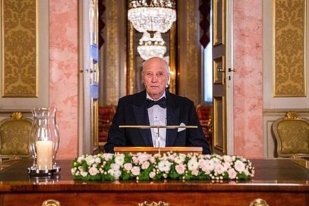 Harald V., König von Norwegen, kann sein 30. Thronjubiläum nicht groß feiern. Foto: Haakon Mosvold Larsen/NTB/dpa