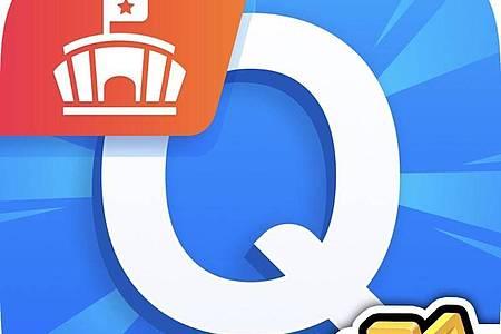 Beim «Neuen Quizduell» treffen sich fünf Spieler in einer Arena, um gegeneinander anzutreten. Foto: App Store von Apple/dpa-infocom