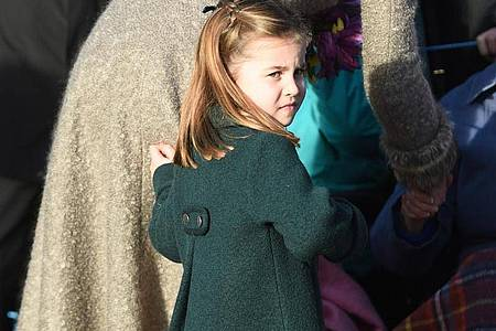 Prinzessin Charlotte ist fünf Jahre alt geworden. Foto: Joe Giddens/PA Wire/dpa