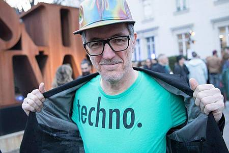 Techno-Pionier Dr. Motte. Foto: Jörg Carstensen/dpa