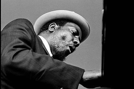 Thelonious Monk am Piano. Foto: Jim Marshall Photography/Jay Blakesberg/dpa