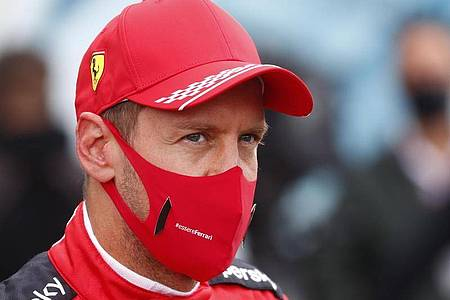 Ist mit seinem Ferrari-Team in Imola gefordert: Sebastian Vettel. Foto: Francois Lenoir/POOL REUTERS/AP/dpa