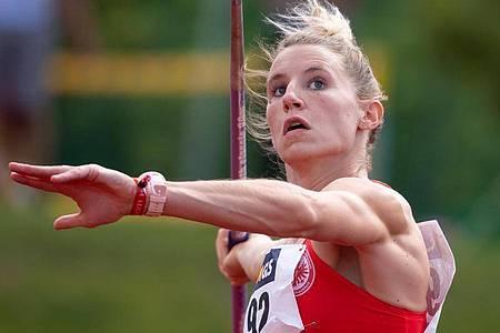 Carolin Schäfer ist zum zweiten Mal nach 2013 Deutsche Siebenkampf-Meisterin. Foto: Sven Hoppe/dpa