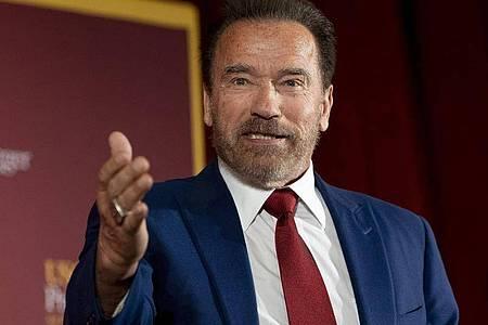 Nach seiner Herz-OP geht es Arnold Schwarzenegger eigenen Worten zufolge «fantastisch». Foto: Paul Bersebach/Orange County Register via ZUMA/dpa