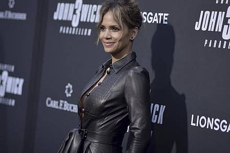 Schauspielerin Halle Berry kommt im Mai 2019 zu einer Vorführung des Films «John Wick: Chapter 3 - Parabellum» in Los Angeles. Foto: Richard Shotwell/Invision/AP/dpa