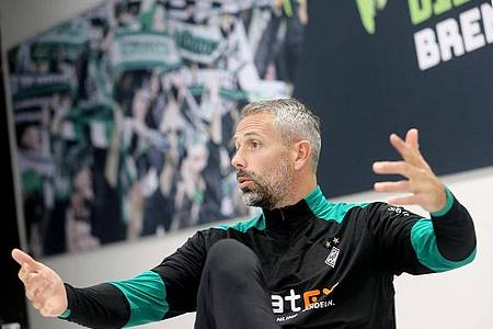 Führte Borussia Mönchengladbach in seinem ersten Jahr gleich in die Königsklasse: Trainer Marco Rose. Foto: Roland Weihrauch/dpa