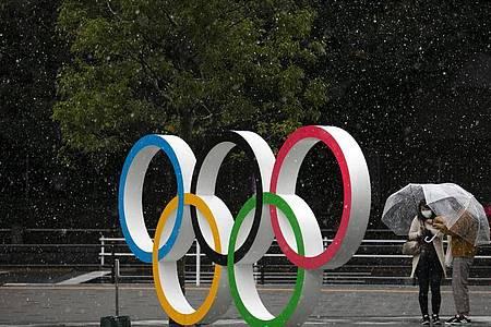 Wegen der Coronavirus-Pandemie sind die Olympischen Spiele gefährdet. Foto: Jae C. Hong/AP/dpa