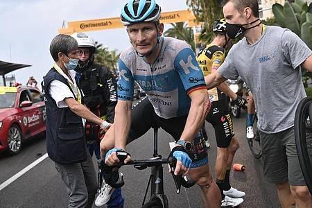Fährt vermutlich seine letzte Tour de France: André Greipel. Foto: Marco Bertorello/AFP/dpa