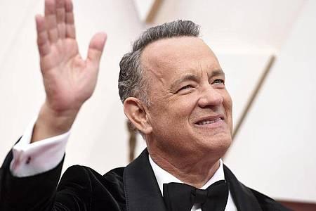 Tom Hanks ist zurück in den USA. Foto: Jordan Strauss/Invision/AP/dpa
