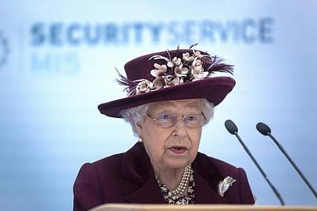 Die Ansprache der Queen gilt als Zeichen, dass die Regierung die Lage als ernst bewertet. Foto: Victoria Jones/PA Wire/dpa
