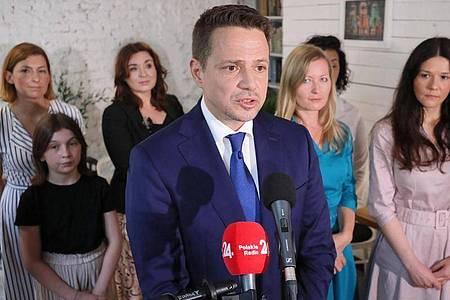 Rafal Trzaskowski ist Bürgermeister von Warschau und Präsidentschaftskandidat von Polens größtem Oppositionsbündnis. Foto: Pawel Supernak/PAP/dpa