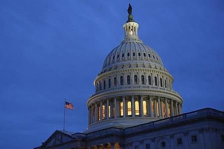Die Kuppel des Kapitols in Washington. Foto: Patrick Semansky/AP/dpa