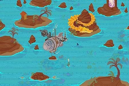 Jedes Level von «Fledgling Heroes» sieht anders aus und ist nach Angaben der Entwickler handgezeichnet. Foto: Subtle Boom/dpa-tmn