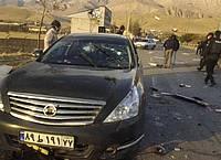 Iran zufolge zufolge wurde der Atomphysiker «von Terroristen» in seinem Wagen angeschossen und schwer verletzt. Er sei später im Krankenhaus seinen Verletzungen erlegen. Foto: Uncredited/Fars News Agency/AP/dpa