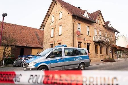 Der Tatort in Rot am See im Nordosten Baden-Württembergs. Foto: Tom Weller/dpa