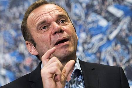 Muss den Chefsessel beim HSV räumen:Bernd Hoffmann. Foto: Malte Christians/dpa