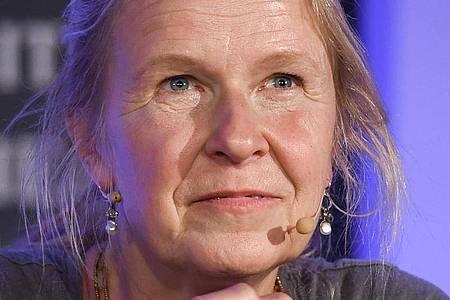 Cornelia Funke, deutsche Kinder- und Jugendbuchautorin, lebt in den USA. Wie lange noch?. Foto: Christophe Gateau/dpa