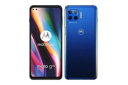 Motorola verkauft das Moto G 5G Plus ab 350 Euro. Foto: Motorola/dpa-tmn